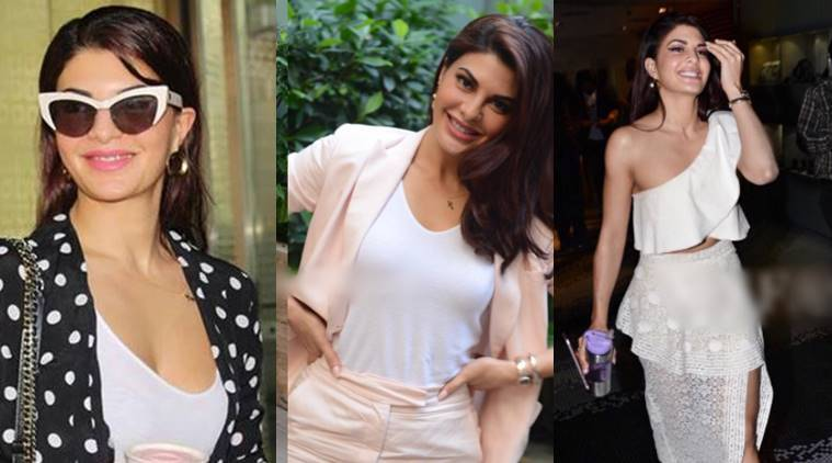 Jacqueline fernandez, latest pictures of Jacqueline fernandez, judwaa 2 promotions, jacqueline fernandez fashion, jacqueline fernandez OOTD, indian express, indian express news