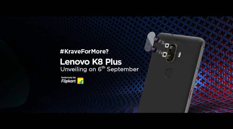 Lenovo K8 Plus, Lenovo K8 Plus Flipkart, Lenovo K8 Plus price in India, Lenovo K8 Plus launch in India