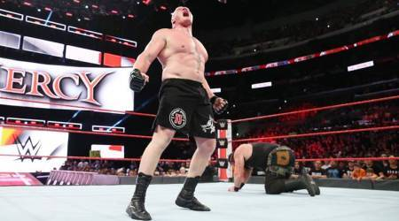 WWE No Mercy Results: Brock Lesnar finally gets the better of Braun Strowman