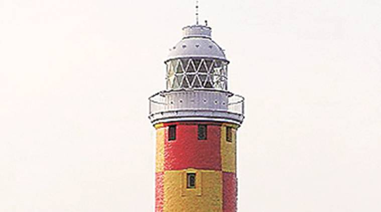 mumbai lighthouse, mumbai tourist spots, Kanhoji Angre Island Lighthouse, Sunk Rock Lighthouse, Mumbai, Indian express news