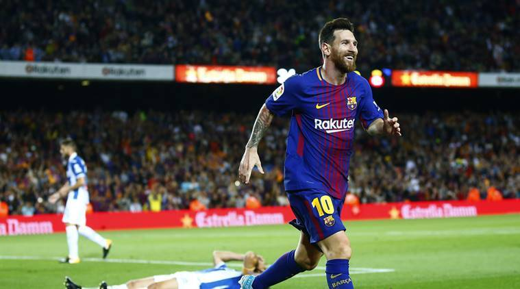 Hat-trick by Messi the key as Barca rout Espanyol