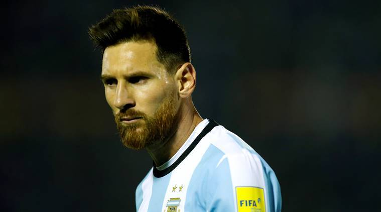 Lionel Messi, Argentina, Chile, 2018 World Cup, sports news, football, Indian Express