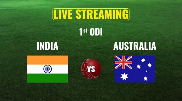 India vs australia, ind vs aus, india vs australia odi live streaming, ind vs aus odi score, cricket live streaming, cricket, indian express