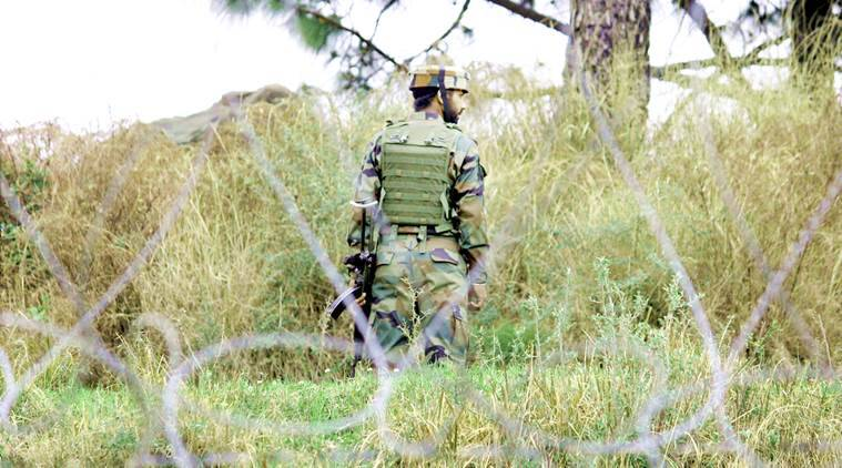 army jawans, pakistan, loc, poonch, pakistan troops, indian army, line of control, krishnaghati sector, ceasefire violation, kg sector