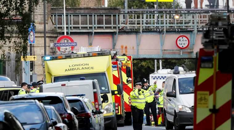 Image result for British police make the sixth arrest in Parsons Green attack,