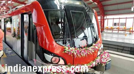 Lucknow Metro makes maiden run, phase 1 has 8-km corridor: See pics