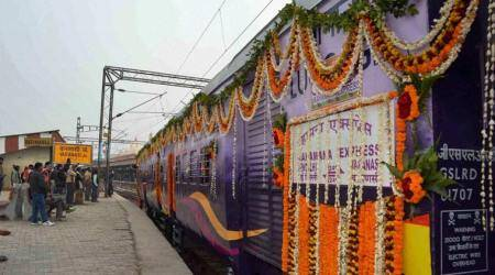 Vadodara-Varanasi train to be flagged off by Modi on Friday