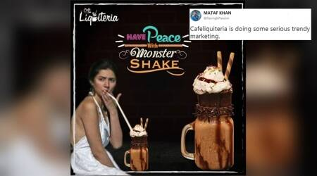 Pakistani café uses Mahira Khan's 'smoking picture' as marketing gimmick; Twitterati stand divided