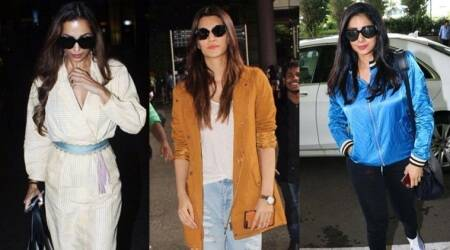 Malaika Arora, Kriti Sanon and Sridevi's airport style is next-level superb