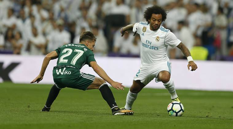 Real Madrid marcelo marcelo injured Real Betis karim benzema