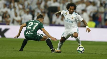 Real Madrid defender Marcelo injured