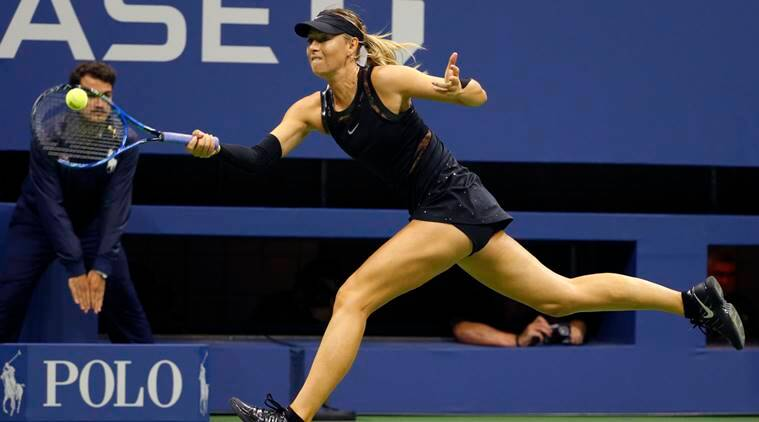 US Open 2017: Maria Sharapova battles past Sofia Kenin to ...