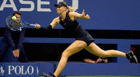 US Open 2017: Maria Sharapova battles past Sofia Kenin to reach fourth round