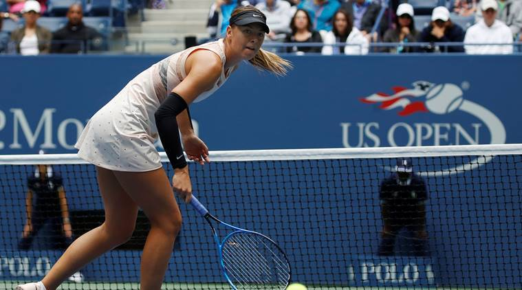 Maria Sharapova, US Open 2017, Anastasija Sevastova, Tennis news, Indian Express