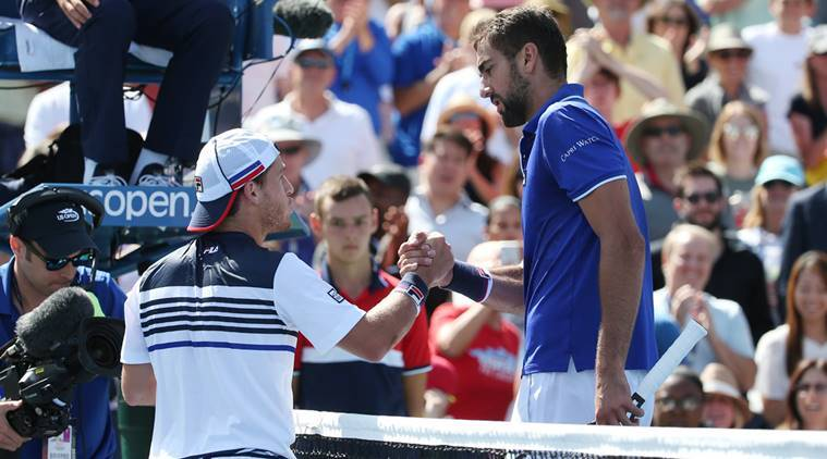 US Open: Schwartzman pulls off shock win over Cilic
