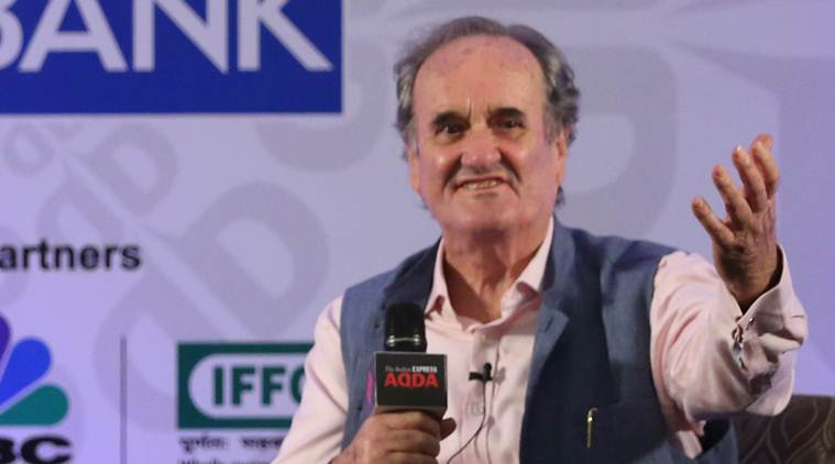mark tully, bbc chief mark tully, overseas citizen of india, mark tully in express adda, express adda, mark tully indian citizenship