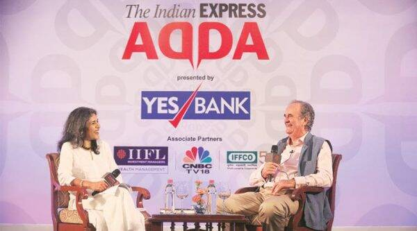 mark tully, bbc chief mark tully, overseas citizen of india, mark tully in express adda, express adda, india news, congress, rss, mark tully on rss, mark tully on congress, mark tully indian citizenship, indian express