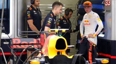 Singapore Grand Prix: Red Bull's Max Verstappen fastest in final practice; Lewis Hamilton third
