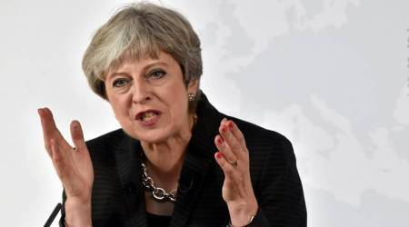 Trying to reset agenda, UK's Theresa May sets out to tackle social injustice
