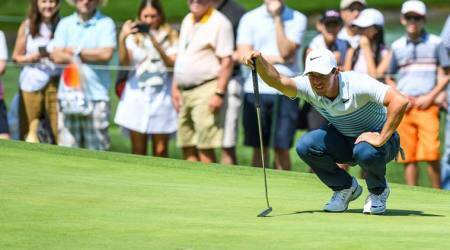 Rory McIlroy upbeat ahead of title defence in Boston