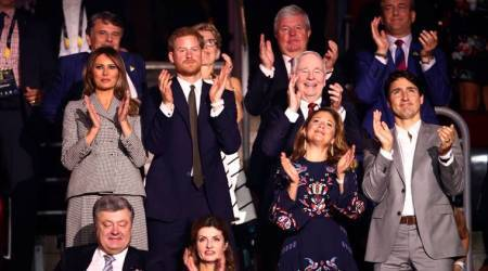Melania Trump meets Prince Harry, Justin Trudeau, thanks US Invictusteam