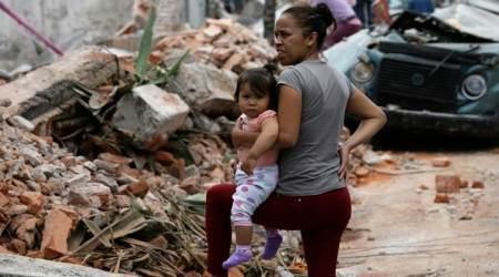 earth quake in Mexico, rescuse operations in Mexico, Mexico news, International news, Strom hits mexico, International news, World news