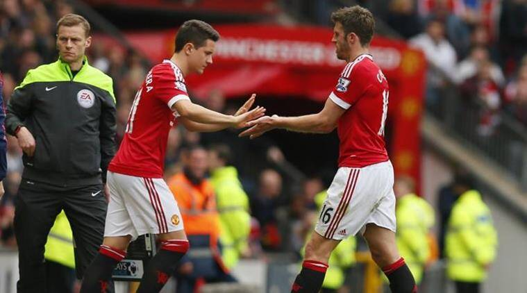 Jose Mourinho, Michael Carrick, Ander Herrera, manchester united, Premier League, Football news, Indian Express