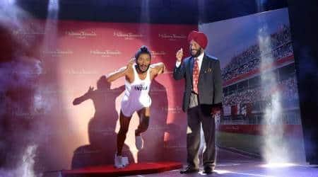 Milkha Singh's wax statue unveiled inChandigarh