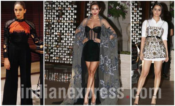 Mira Rajput, Malaika Arora, Shraddha Kapoor, Ambani's dinner party, Ambani's dinner party photos