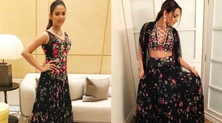 Sonakshi Sinha or Mira Rajput: Who wore Arpita Mehta's fall blooms print better?