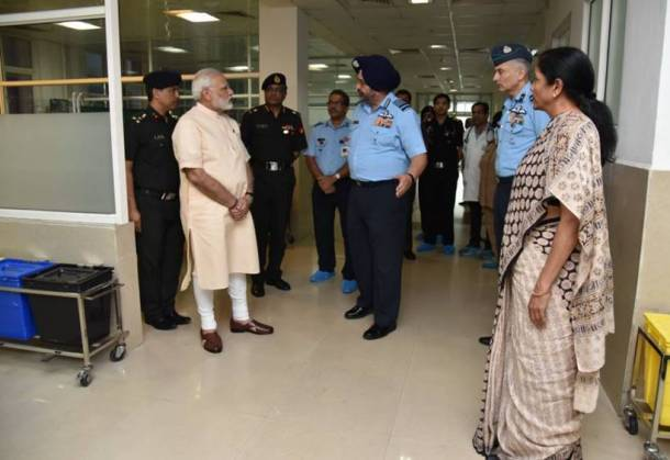 arjan singh, Marshal of the Indian Air Force, IAF marshal arjan singh, arjan singh hospitalised, arjan singh heart attack, narendra modi, narendra modi on arjan singh's health, nirmala sitharaman