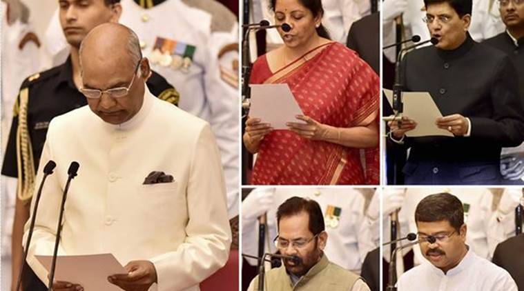 9 new ministers join pm narendra modi government; 4 elevated as