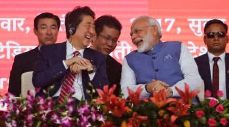 Modi Abe bullet train, Modi bullet train, Bullet Train in India, bullet train