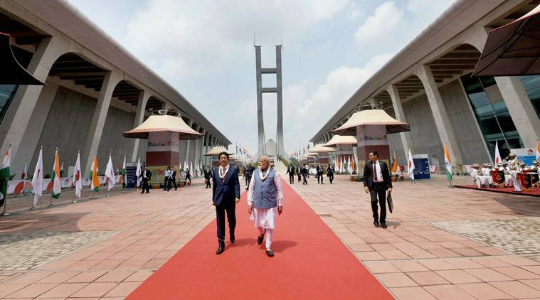 Bullet train, Bullet train project, Bullet train India, Narendra Modi, Shinzo Abe, Ahmedabad Bullet train, Gujarat bullet train
