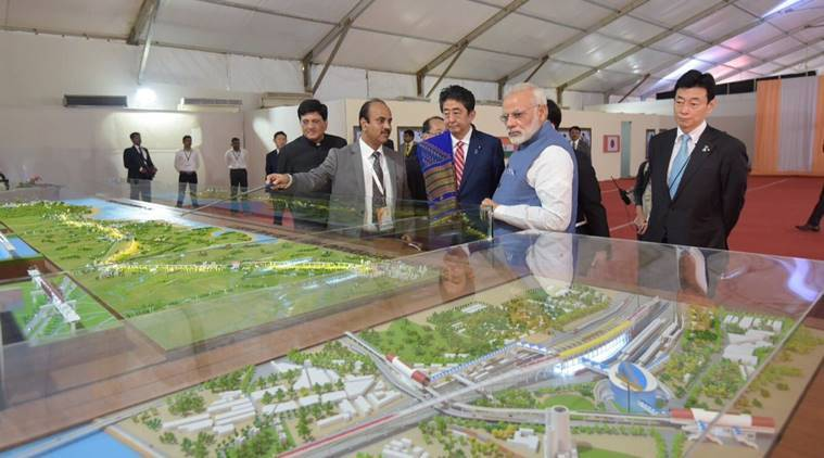 Shinzo Abe, Narendra Modi, Bullet Train, Bullet train launch, bullet train india, japan, india
