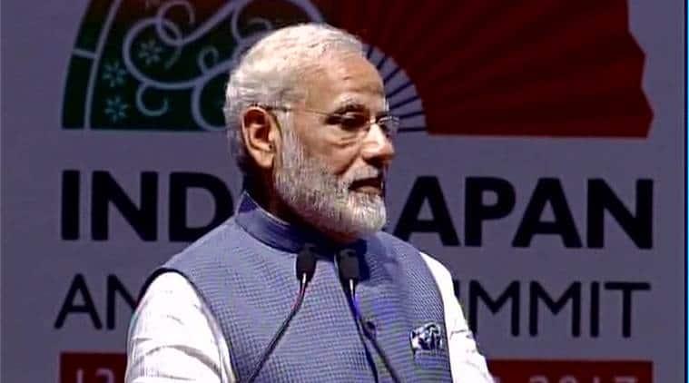 Narendra modi, shinzo abe, shinzo abe india visit, india japan annual summit, india japan ties, india japan agreements