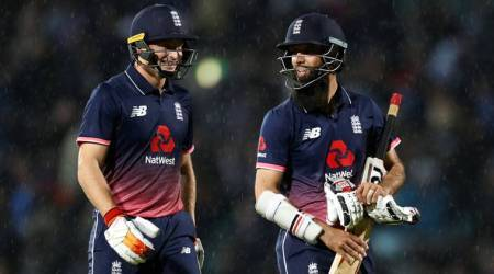 England win 4th ODI by 6 runs (DLS method), take unassailable 3-0 lead against WestIndies