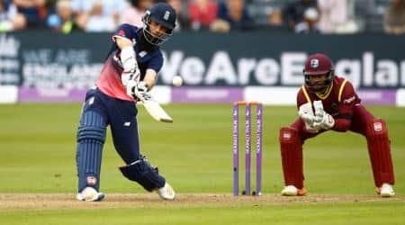 England vs West Indies, Moeen Ali, Moeen Ali hundred, Jason Holder, sports news, cricket, Indian Express