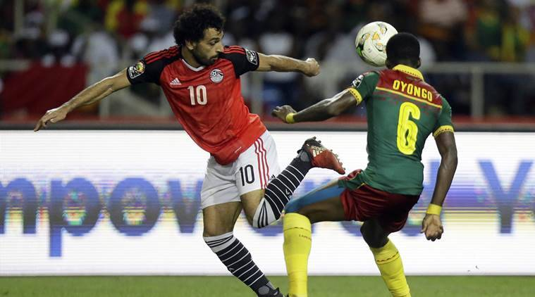 Egypt vs Uganda, World Cup qualifier, Mohamed Salah, sports news, football, Indian Express