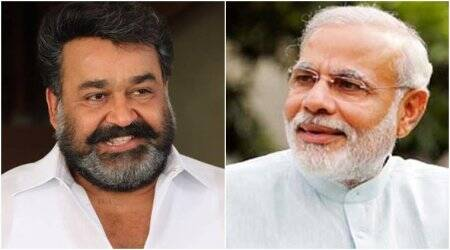 PM Narendra Modi invites actor Mohanlal to be part of Swachhata mission