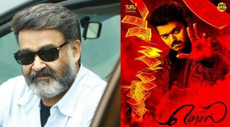 Mohanlal's Villian will take on Vijay's Mersal at box office