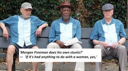 VIDEO: Morgan Freeman, Alan Arkin and Michael Caine's automated interview is the funniest thing you will watch today
