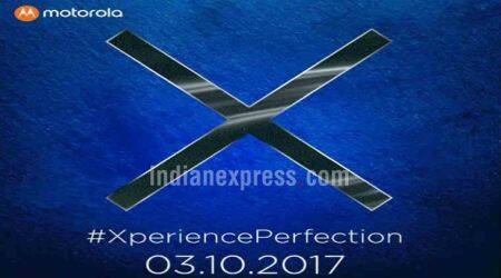 Motorola Moto X4 India launch confirmed for October 3