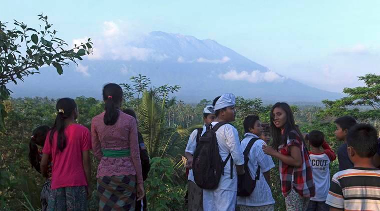 Thousands evacuated as Bali volcano spews ominous smoke 3000 meters high