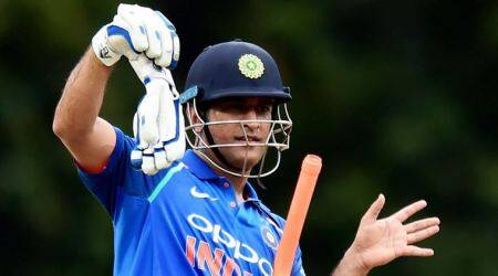 I played with older kids in childhood, maybe that is why I play well: MS Dhoni