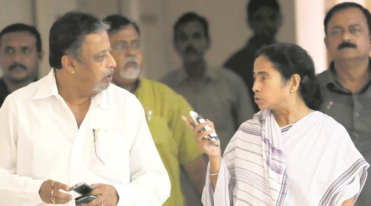 Mukul Roy, Mukul Roy BJP, TMC on Mukul Roy, Mukul Roy traitor, Mamata Banerjee, Mamata Banerjee on Mukul Roy, Sovan Chatterjee, Mukul Roy joins BJP, Firhad Hakim, West Bengal assembly polls, Kolkata news