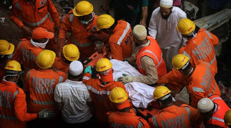 Saifee Burhani Upliftment Trust, Hussaini building collapse, mumbai Hussaini building, indian express, mumbai news, MHADA, mumbai fire safety, mumbai buildings fire