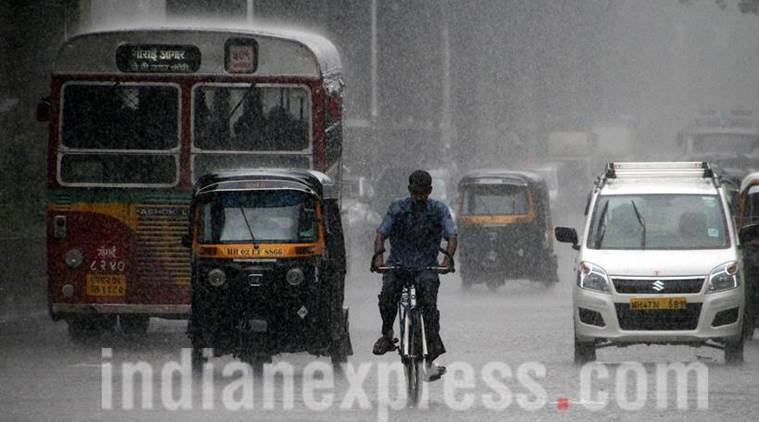 Mumbai Rains, Mumbai, Mumbai rainfall, mumbai trains resume, weather in mumbai, mumbai rain prediction, mumbai high tide, mumbai flooding, mumbai worst floods, Mumbai weather, Mumbai rains live, Live, maharashtra, Maharashtra rainfall, heavy rains in Mumbai, Thane, mumbai airports shut, mumbai trains diverted, Mumbai schools, India news, Indian express news