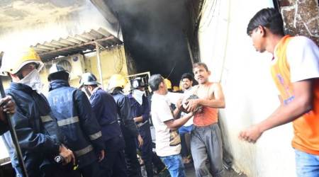 Fire breaks out in commercial building in Mumbai; none hurt