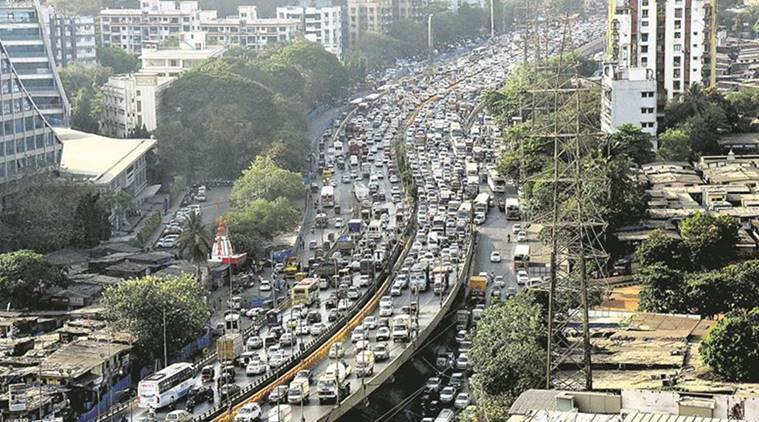 Western Express Highway, Mumbai Western Express Highway, Ali Yavar Jung Road, Mumbai Highway, Mumbai News, Indian Express, Indian Express News